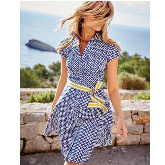 748f535bf95 Boden Dresses & Skirts - Boden Sophia Shirt Dress